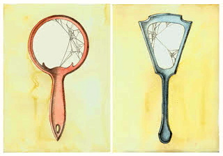Drawing of Vintage Mirrors