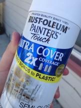 Rust-oleum White Spray Paint