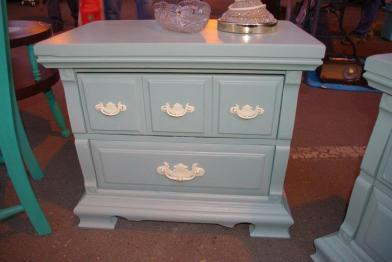 Here's a little sneak peek of one of the nightstands I bought.