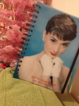 Audrey Hepburn weekly/monthly day planner