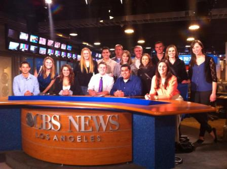 CPTV Students at CBS in LA