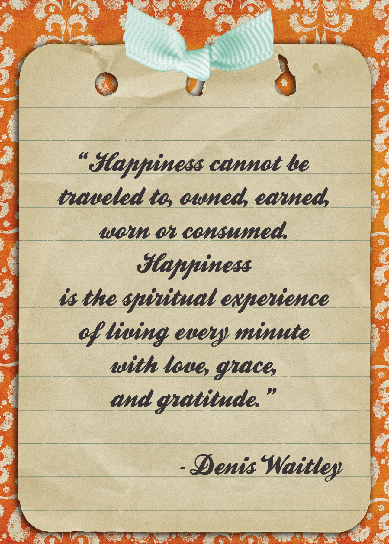 Quote of the Day: Hunt For Happiness Week Day 2