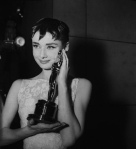Audrey Hepburn 1954 Oscars
