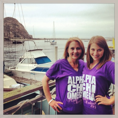 my mommy and me in Morro Bay