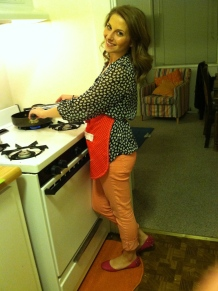 me cooking chicken for the first time... ever.