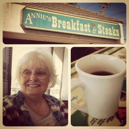 Grandma at Annie's